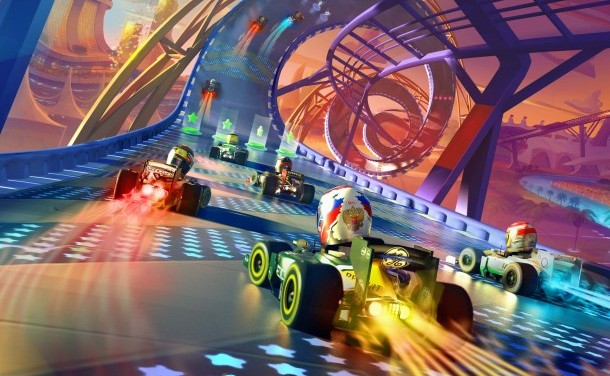 F1 Race Stars demo now available