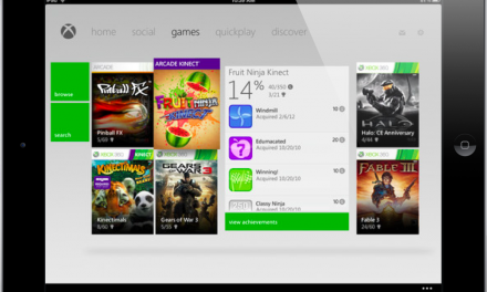 Control your Xbox360 with the iPad