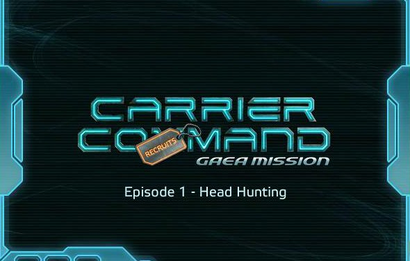 Rising Star Games announces free four-part game series Carrier Command: Recruits