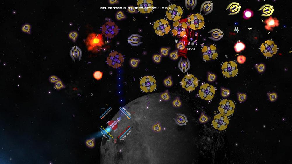 Sci-fi Twin-Stick Shooter Schar: Blue Shield Alliance released on XBLIG