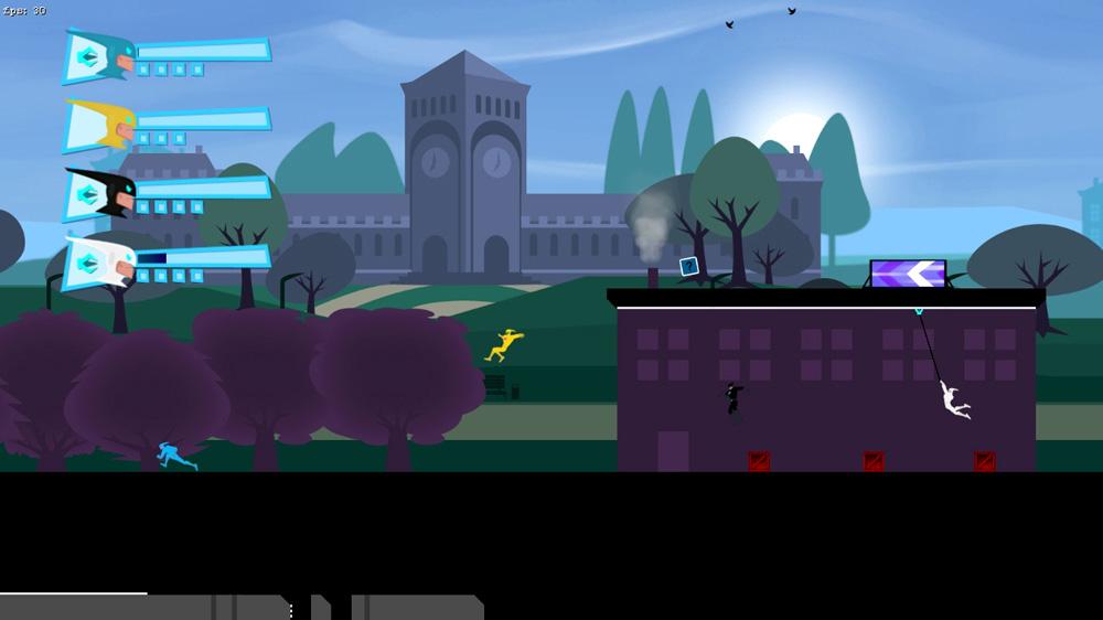 Speedrunner HD coming to Steam