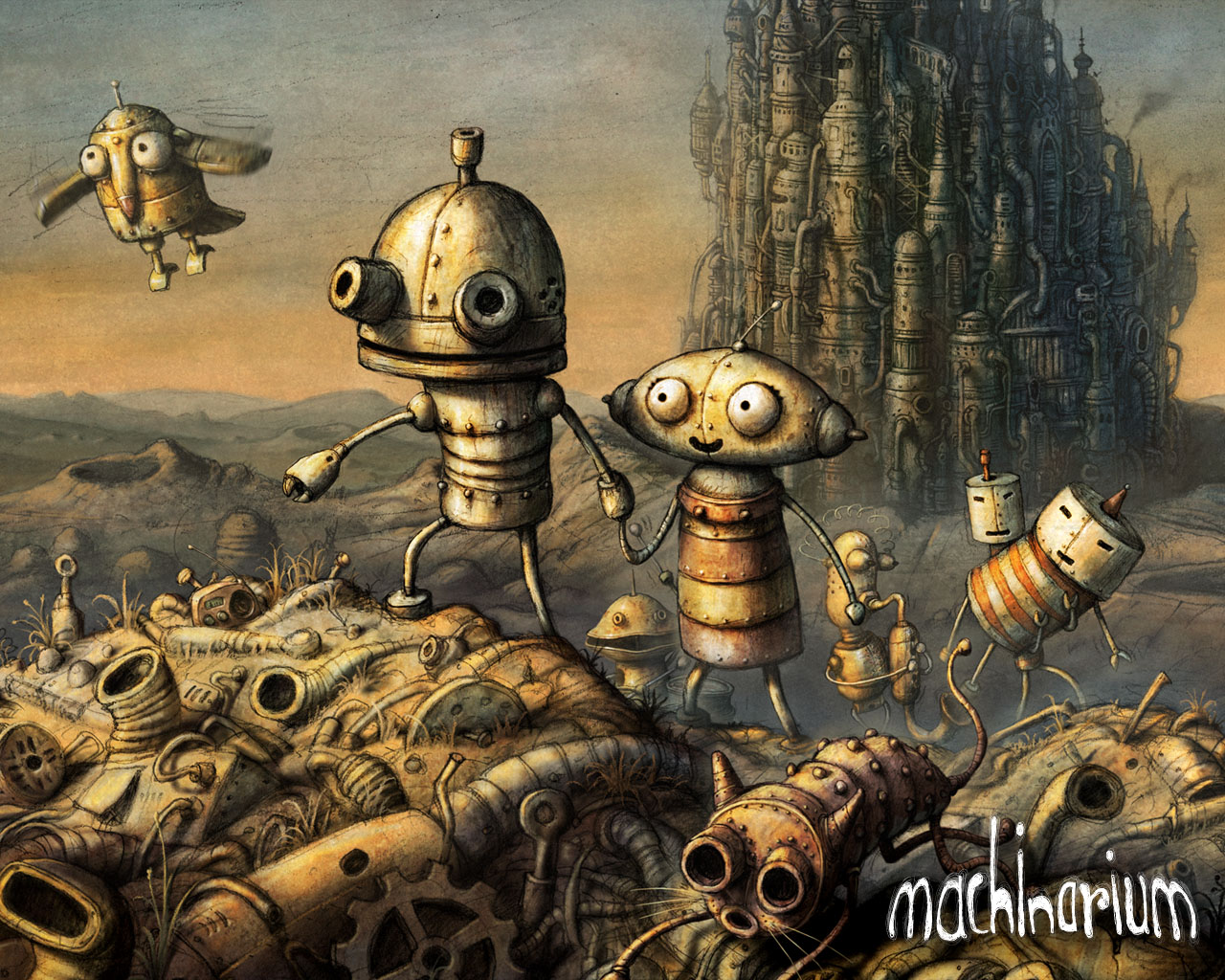 Amanita's Machinarium coming to EU PSN next month