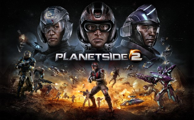 Free-To-Play MMO Shooter PlanetSide 2 released