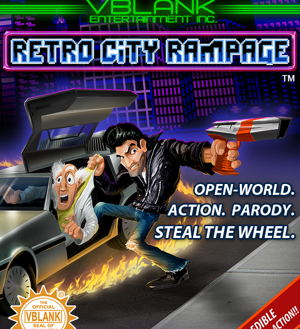 Retro City Rampage Xbox 360 Version Released