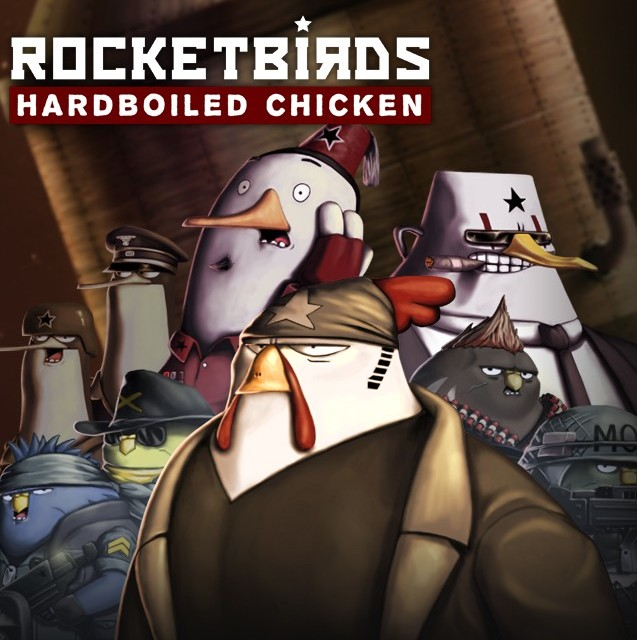 Rocketbirds: Hardboiled Chicken released on the PC