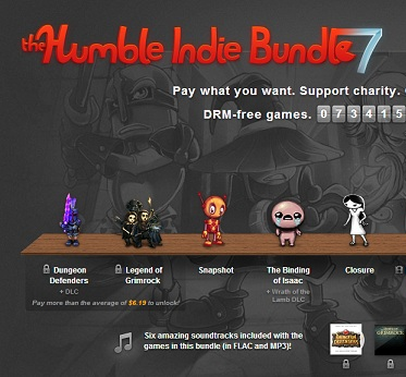 Humble Indie Bundle 7 is live