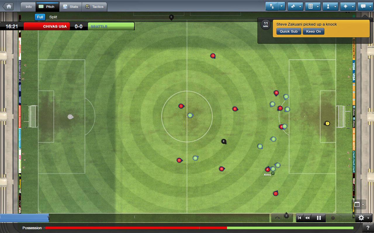The latest version of the classic Football Manager series