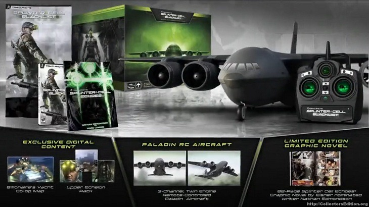 Splinter Cell: Blacklist Collector's Edition unveiled
