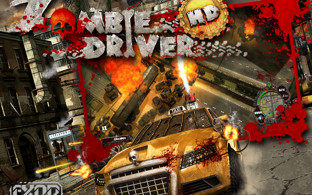 Zombie Driver HD released on EU PSN