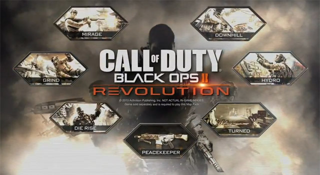 Call of Duty: Black Ops II Revolution DLC PS3 release date - GameConnect