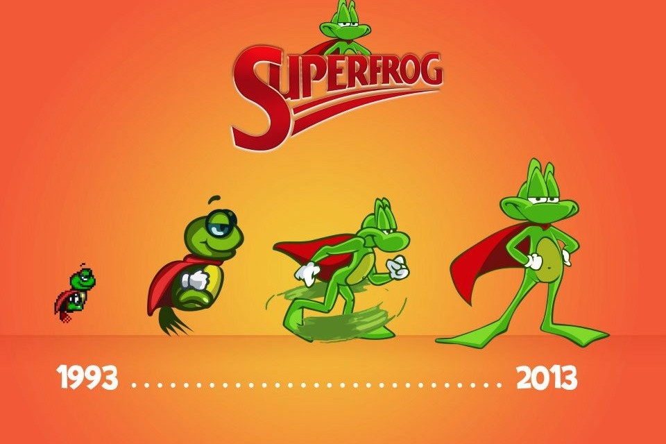 Team17's classic Superfrog coming to PS3, PSVita