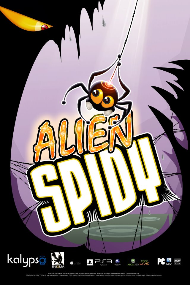 Alien Spidy launches on EU PSN
