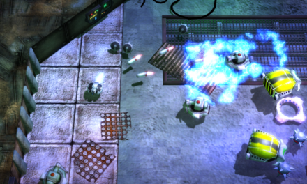 Namco Bandai announces arcade-style droid shooter Hexodius