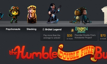 The Humble Double Fine bundle is live