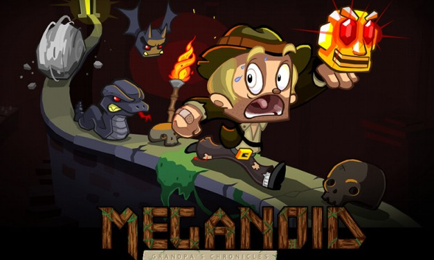Meganoid 2 – Grandpa's Chronicles now available