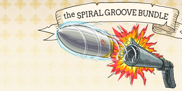 The Spiral Groove Bundle from Indie Royale is live