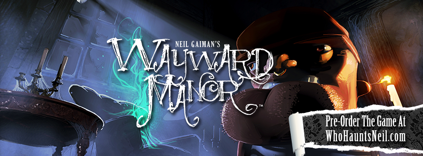 Sandman author Neil Gaiman announces Wayward Manor