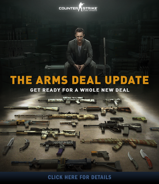 CS: GO launches Arms deal update - GameConnect