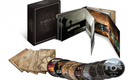 The Elder Scrolls Anthology announced