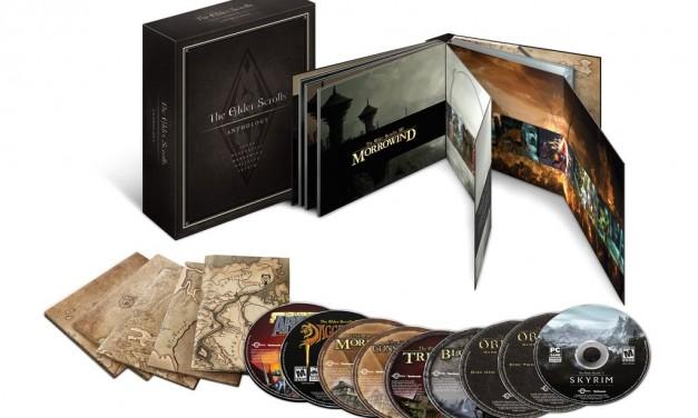 The Elder Scrolls Anthology announced