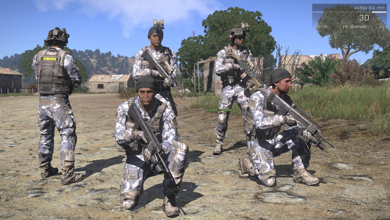 how to use the nyx arma 3