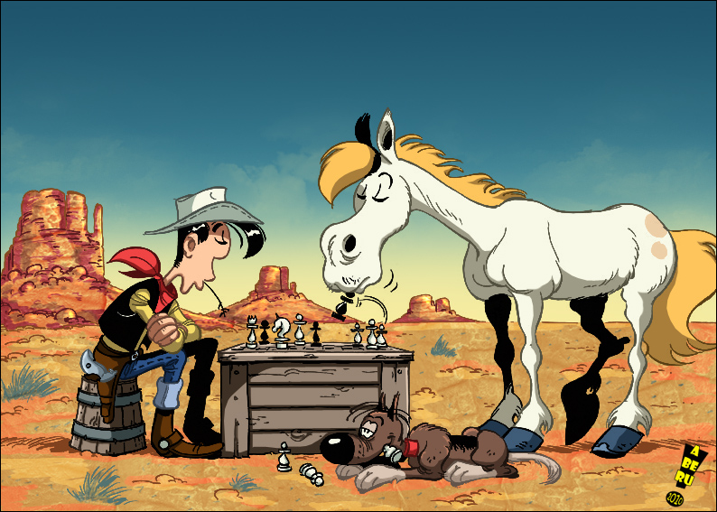 Anuman Interactive announces Lucky Luke: Transcontinental Railroad
