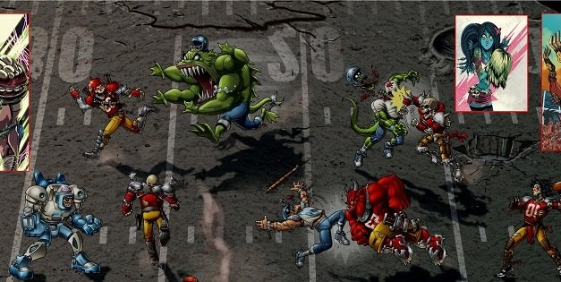Mutant Football League resurrects a classic gaming genre via Kickstarter