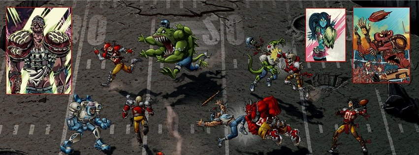 Mutant Football League resurrects a classic gaming genre via Kickstarter