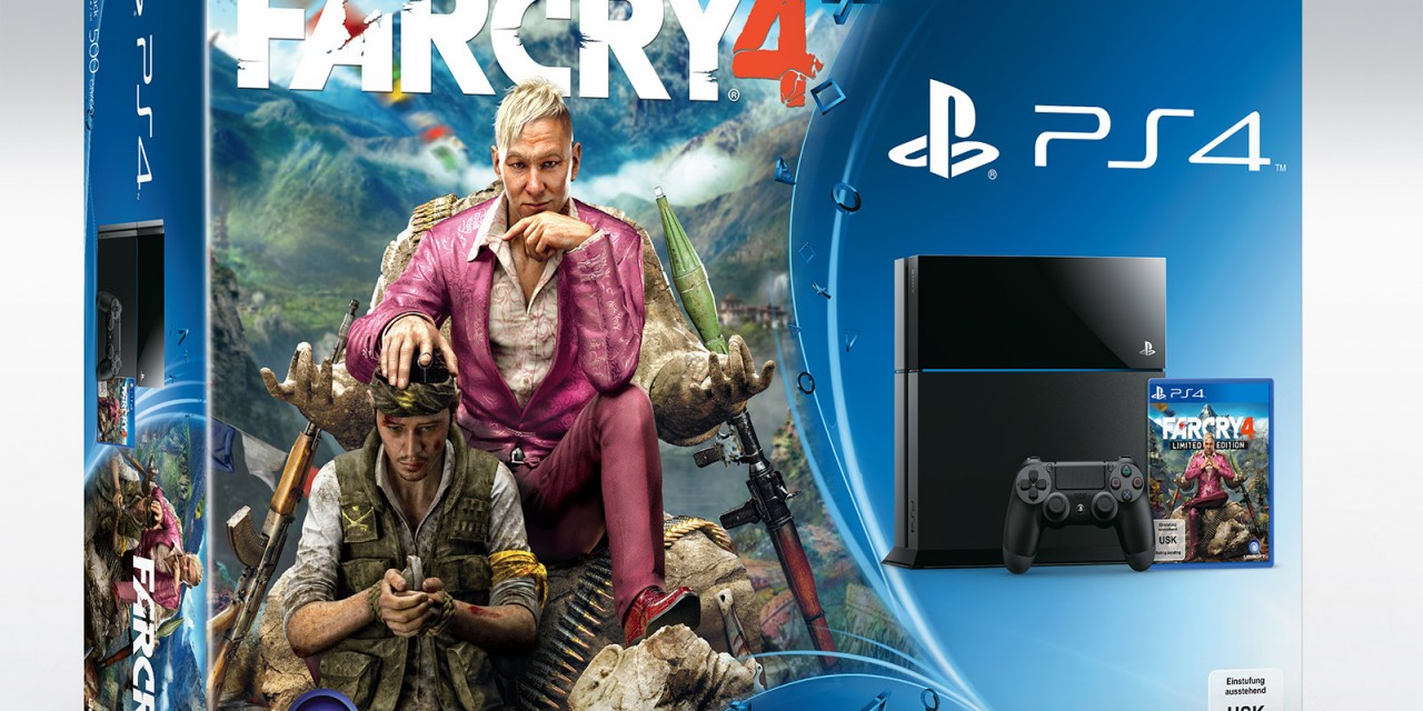 Far Cry 4 PS bundles revealed