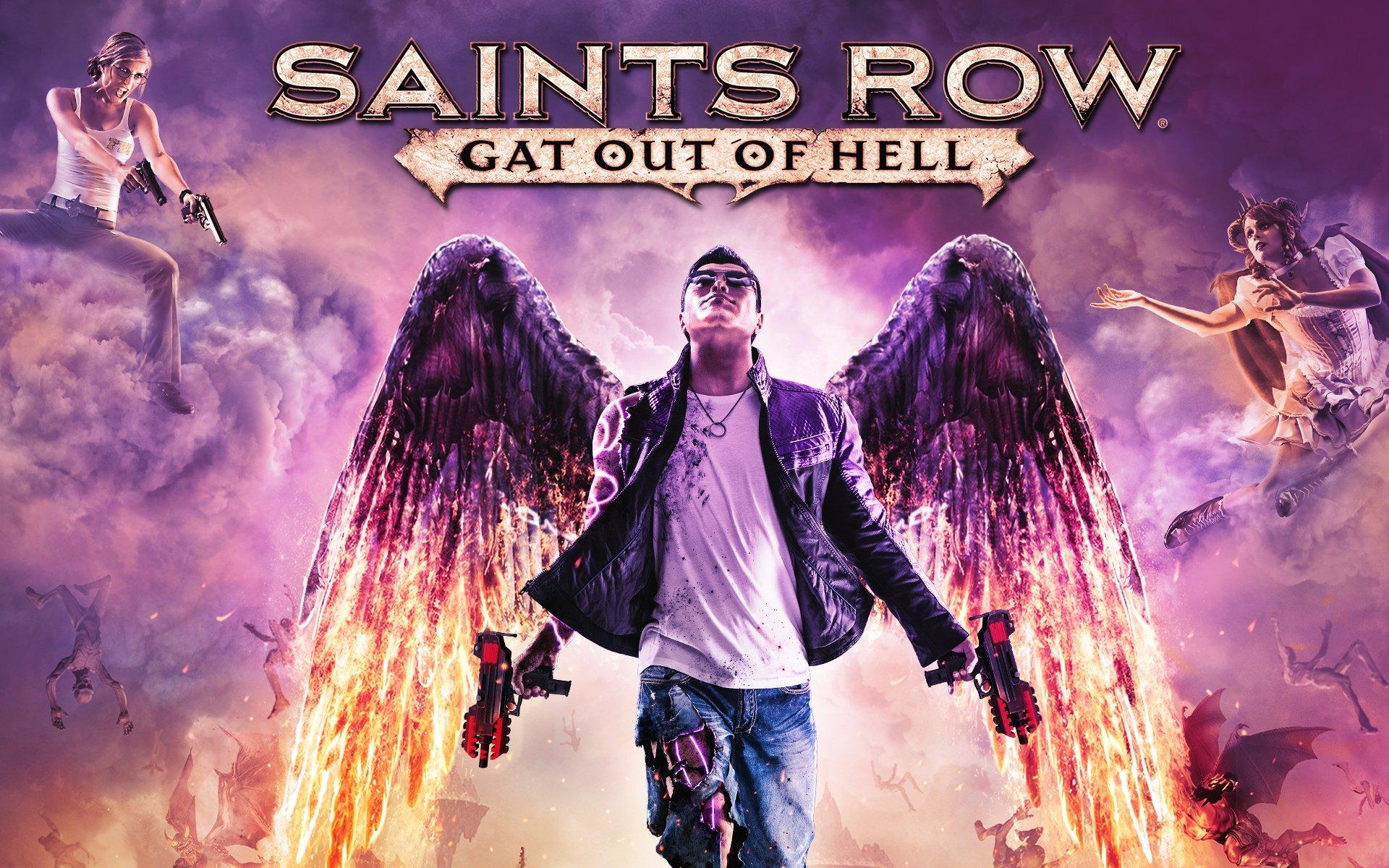 Seven Deadly Weapons In Saints Row Gat Out Of Hell