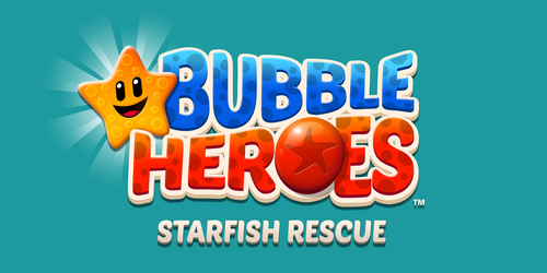 Bubble Heroes splash on Android