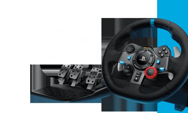 Logitech G Driving Force Racing Wheels hits PS4
