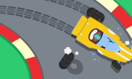 Tiny Ring a Minimal Racer for iOS from Twiddly Studio
