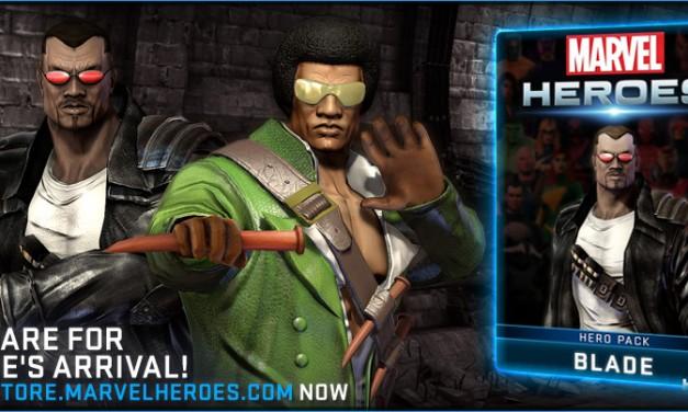 Playable Blade in Marvel Heroes 2015