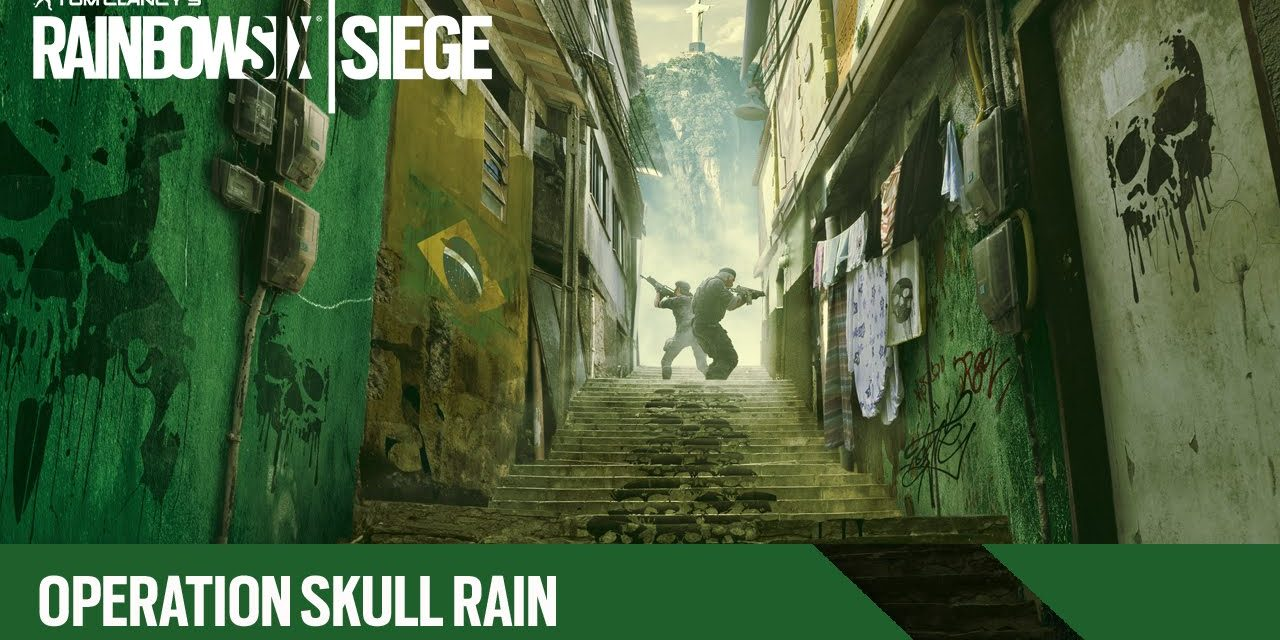 Tom Clancy's Rainbow Six Siege Skull Rain launches today